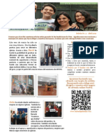 Familia Luzuriaga - Boletín Misionero ABRIL-ESPAÑOL 2019