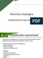 Eletronica Slides Amplificadores Operacionais