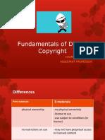 Fundamentals of Digital Copyright