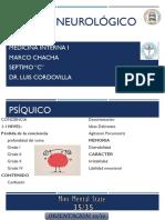 Examen Neurológico Manual