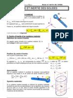 C00 Masse Et Inertie Des Solides