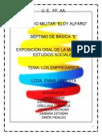 Empresarios Diapositivas PDF