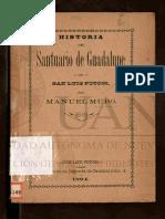 Historia Del Santuario Manuel Muro