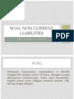 Soal Non Current Liabilities
