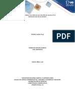 Fase 2 - Realizar una relatoría que describa las teorías de la Administración de la unidad 1 - Entrega de la actividad