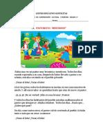 EVALUACIÓN  DE  COMPRENSIÓN  LECTORA  GRADO 2°    PERÍODO 1.docx