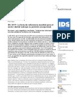 Informe IDS 2019