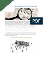 job portal manegement software.pdf