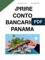 Aprire Conto Bancario Panama