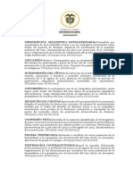Casacion- Prescripcion extraordinaria SC13099-2017