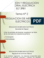 Tarifacion y Regulacion Sectorial Electrica Tema 2-2