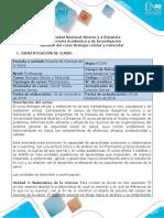 Syllabus Del Curso Biología Celular y Molecular