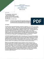 NRC Enforcement Decision 3-25-19