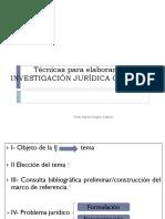 Técnicas Para Elaborar Una IJ