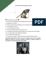 Codes d'Honneur Des Chevaliers Et Vertus