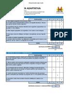 Corrección de ICAP versión chilena