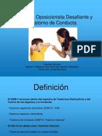 TRASTORNO DE CONDUCTA INFANTIL