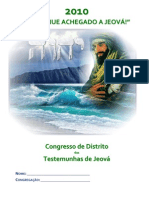 Caderno Congresso 2010