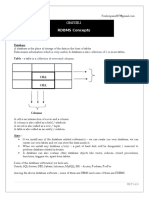 SQL Notes (1)