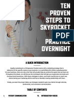 10 Proven Steps to Skyrocket Your Practice Overnight