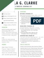 Kayla Clarke's Professional Resume