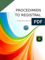 Derecho Registral 111