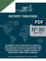 Reporte Tributario n90 Ddjj 1938 1940 y 1938 Ejercicios
