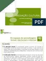 A FORMAÇÃO DA AÇÕES EDUCATIVAS EM MUSEUS E O ENSINO DA ARTE  .pdf