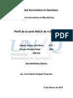 Metodologia Formulas NACA 4 Digitos