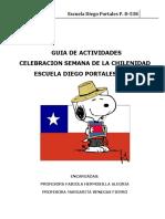 Guia de Trabajo Semana de La Chilenidad 2018
