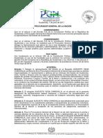 Acuerdo Nombramiento PGN