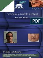 Desarrollo y Crecimiento Craneofacial Biol. Bucal
