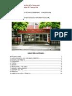 3 Proyecto Educativo Institucional, Liceo Técnico Femenino,