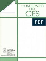 Caderno Del CES