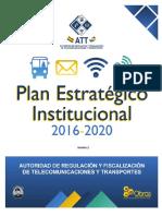 1. PEI 2016 - 2020
