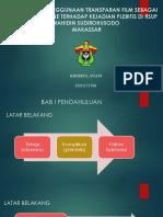 proposal EFEKTIVITAS PENGGUNAAN TRANSPARAN FILM SEBAGAI DRESSING.pptx