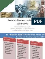 Cambios en Chile Desde 1954