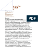 A. I. Pérez Gomez - La Cultura escolar en la sociedad neoliberal - La cultura Crítica.docx