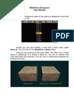 MD User Manual UE4