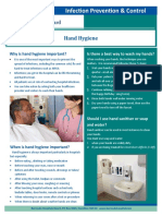 Hand Hygiene Fact Sheet FEB2019