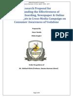 Vodafone - Market Research Proposal