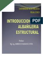 SESION N° 01 - INTRODUCCION ALBAÑILERIA ESTRUCTURAL.pdf