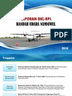 Laporan RKL-RPL Bandara Namniwel