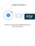 ionic 2 tutorial