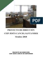 PROYECTO DE DIRECCIÓN septiembre 2010