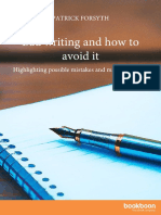 Bad Writing and How to Avoid