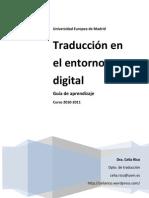 Traducción en el entorno digital. Guía de aprendizaje y portafolios digital.