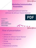 Johnson & Johnson Facial Cleanser