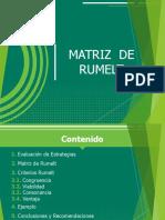 Presentación- Matriz de Rumelt 2