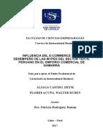 2017 Aliaga Influencia Del Ecommerce
